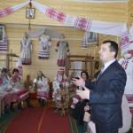Клас ткацтва адкрылі ў Дарапеевіцкай школе творчасці