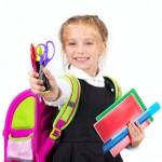 Першы раз у першы клас, альбо Расказ пра тое,  як мы збіралі ў школу сваю  першакласніцу.