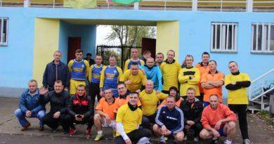Ветераны футбола Малоритчины обыграли украинцев и поляков