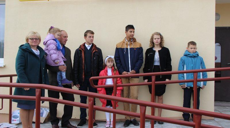 Открытие дома семейного типа (фоторепортаж. г. Малорита)