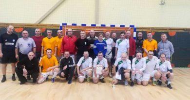 Международный турнир по мини-футболу прошёл в Малорите