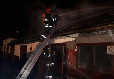 Пожар по улице Советской в Малорите