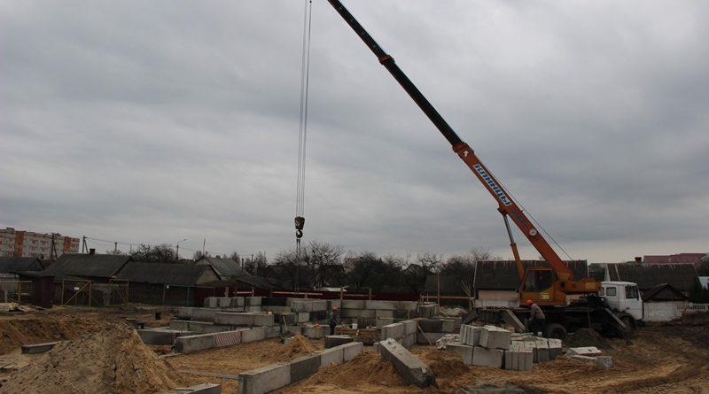 Строительство жилья: в Малорите уже начато возведение очередного многоквартирного дома