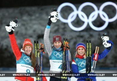 Дарья Домрачева завоевала олимпийское серебро в масс-старте