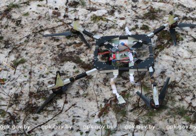 Контрабандисты пытались перебросить в Польшу  сигареты с помощью дрона (видео)