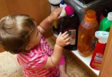 Родители, следите за детьми! С начала года в Бресте 25 детей отравились бытовой химией