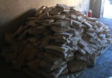 Свыше двух тонн сала обнаружили в гараже брестчанина