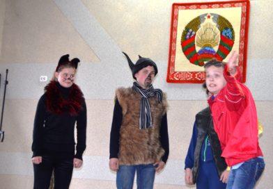 """Тэатральнае """"Асарці"""" школьнікаў Маларыцкага раёна"""