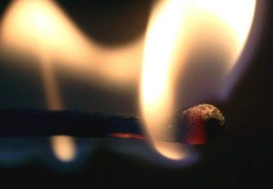 В Бресте горел автомобиль. Предположительно поджог (видео)