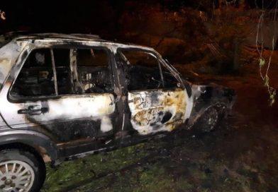 В Малоритском районе сгорел ещё один автомобиль. На этот раз в Мокранах