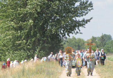 Крестный ход к празднику Луковской иконы Божией Матери (Малоритский район, фоторепортаж)