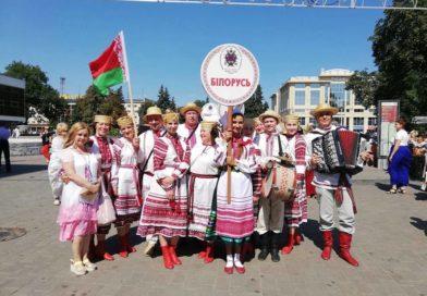 Артысты з Маларыцкага раёна на фестывалі «Берагіня» у Луцку (Украіна)