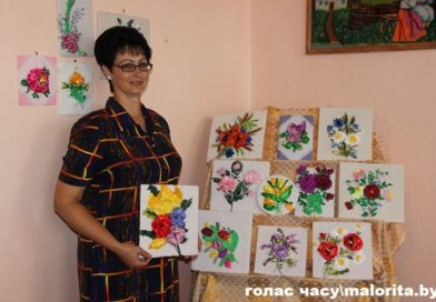 «И лента превращается в цветок…» Творчество Людмилы Самосюк (Малоритский район)