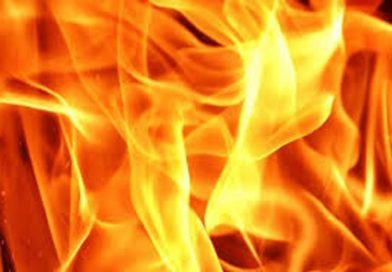 Пожар в деревне Струга (Малоритский район)