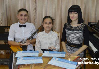 Юныя музыкі з Маларыты адзначаны ўзнагародамі на міжнародным конкурсе