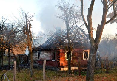 В Ляховцах семья осталась без дома (Малоритский район)
