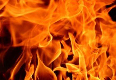 В Орлянке сгорел дом (Малоритский район)