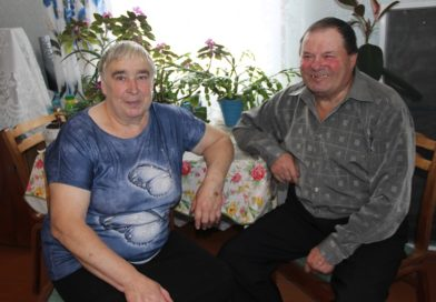 «Полвека вместе!» Пётр и Нина Телипко из деревни Печки (Малоритский район)