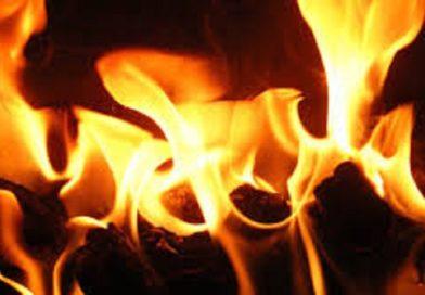 Пожар в д. Никольское (Малоритский район)