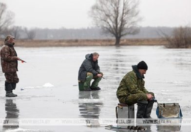 В Брестской области введен запрет выхода на лед