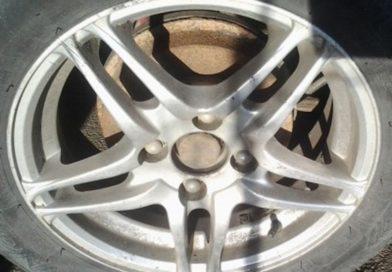 У жителя Мокран украли колёса с дисками (Малоритский район)