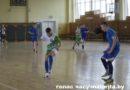 Супрацьстаянне лідараў першынства па міні-футболе Маларыцкага раёна