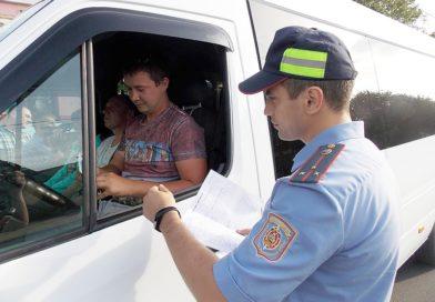 Сотрудники ГАИ проверят как осуществляется перевозка пассажиров