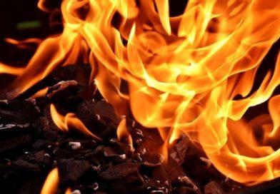 В Мельниках сгорела хозпостройка (Малоритский район)