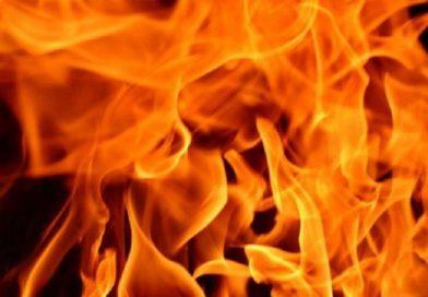 В Луково сгорели две машины (Малоритский район)