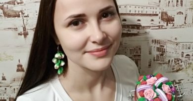 Керамическая флористикаИрины Янушкевич (Малоритский район)
