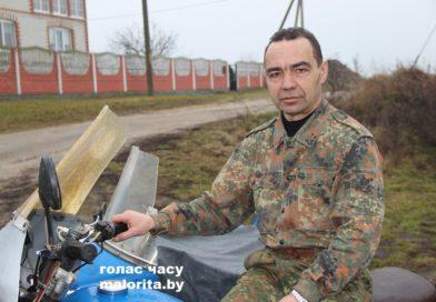 «На войне письма из домапомогали выжить…» Виктор Олесик из деревни Никольское (Малоритский район)
