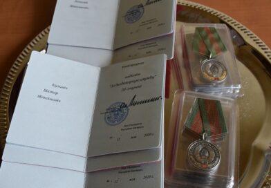 Малоритские спасатели награждены медалями «За безупречную службу»