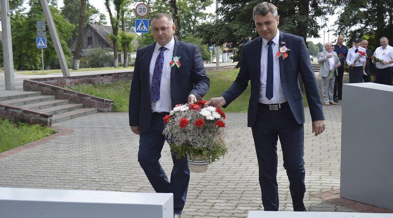 У Дзень Незалежнасці Рэспублікі Беларусь маларытчане ўшанавалі памяць воінаў Перамогі