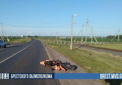 Очередное ДТП с участием мотоциклиста