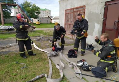 Спасатели провели учения (Малоритский район)