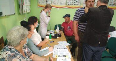 Медики проводят профилактические акции на предприятиях (Малоритский район)