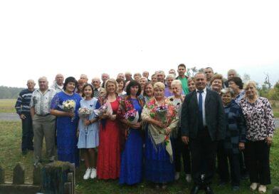 Дружные жители деревни Новое Роматово устроили себе праздник (Малоритский район)