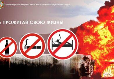 2 ноября в Брестской области стартует республиканская акция МЧС «Не прожигай свою жизнь!»