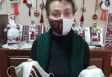 Эксклюзіў: маскі з нацыянальным каларытам (Маларыцкі раён)