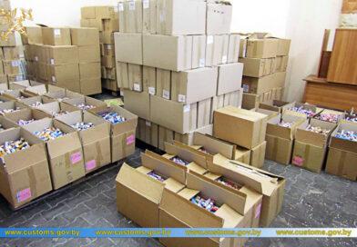 Из Украины в Беларусь пытались незаконно ввести пиротехники на более чем 1 миллион рублей (Малоритский район, Мокраны)