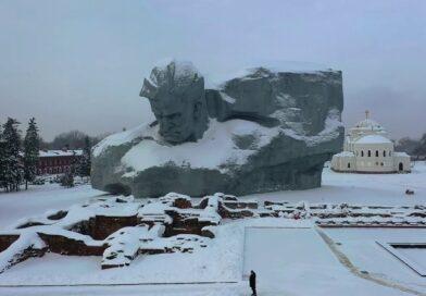 Мемориальный комплекс Брестская крепость-герой с высоты (видео)