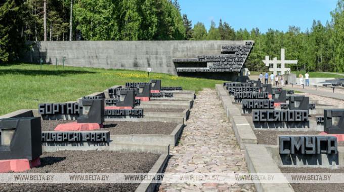 Хатынь – сімвал трагедыі ўсяго беларускага народа. Знак вечнай памяці і смутку 22 сакавіка (відэа)