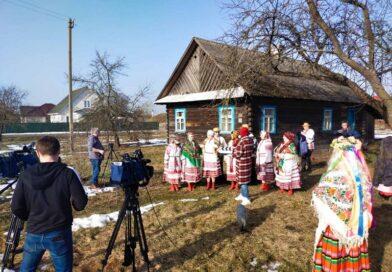 У Хаціславе нядаўна здымалі праграму «Наперад у мінулае» (Маларыцкі раён)