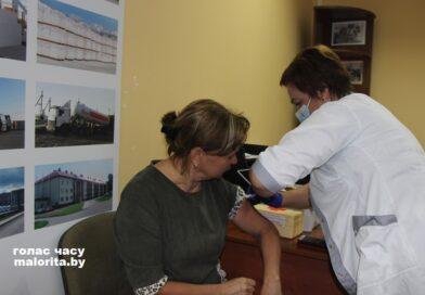 Вакцинация от COVID-19 в Малоритском районе
